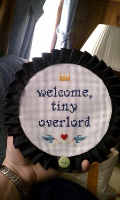 Love this - it would make an awesome baby gift for the right people, lol.