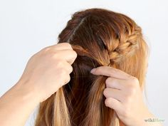 Image titled Do Two French Braids Step 10