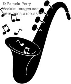 Image result for clip art women saxophone silhouette