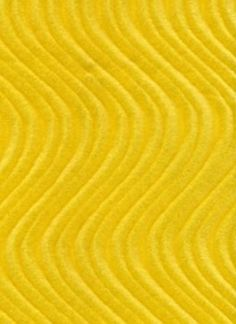 Velvet Flocking Swirl Yellow