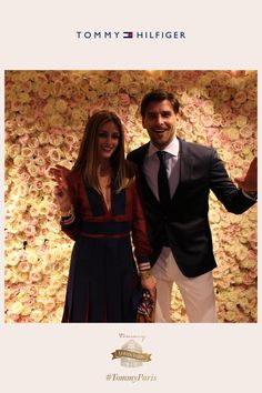 Fun times with @TheRealOliviaP and Johannes Huebl #TommyParis   8      2