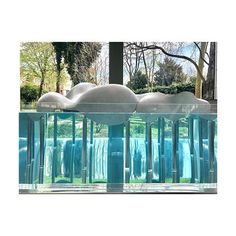 2018 Floating Clouds by Junya Ishigami at Freeing Architecture  Exhibition at La Fondation Cartier Paris France