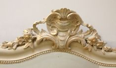 IMW3918 Lovely Antique French Mirror / Rococo shell / circa 1880 / Frenchfinds.co.uk