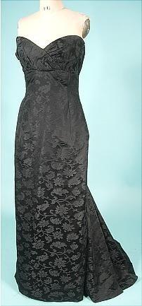 Evening gown (Victor Edelstein)