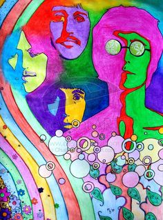 """The Beatles ~ Call me nostalgic, but it was while listening to their music that I learned what real magic is. ~ M.S.M. Gish ~ Miks' Pics """"Artsy Fartsy Vl"""" board @ http://www.pinterest.com/msmgish/artsy-fartsy-vl/"""