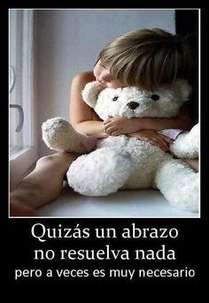 imagenes onita com frasece | Imagen con frase bonita de abrazos | Frases de Amor | Imagenes bonitas ...