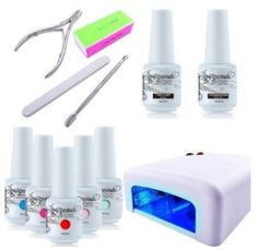 Save money and do you own gel nail manicure. I bought this set for myself and it's worth the money. It comes with five gel colours, base and top coat, a manicure set, and a 36watt UV lamp. You must message the seller after ordering with the nail colors you choose. Shipping is prompt.  This link will take you to Amazon's site and is an affiliate link