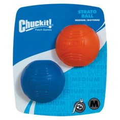 Chuck It Md Bright Balls 2-pk: $7.99