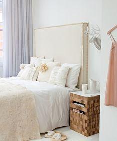 37 ideias de cabeceiras de cama | Um Brinco