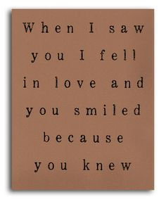 Take a look at this Tan 'Because You Knew' Print by IScreenYouScreen on #zulily today!