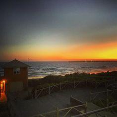 Ripping Sunset#warrnambool #live3280 #sunset #photography #beach #tower #ladybay @destinationwarrnambool by sammytom98