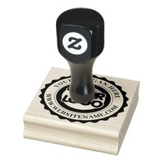 Custom Business Logo Rubber Stamp Custom Rubber Stamps, Round Logo, Wood Stamp, Stamp Making, Self Inking Stamps, Modern Logo, Business Logo, Business Events, Business Cards