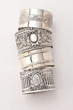 Antique Sterling Napkin Rings