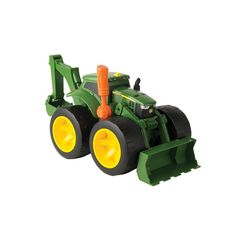 John Deere Monster Treads 2X Scoop Tractor Oversized Tires Kids Play Toy NEW  #TOMY