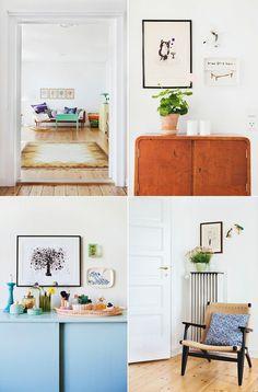Framed Splatter Art.  Adorable Decor : Beautiful Decorating Ideas!