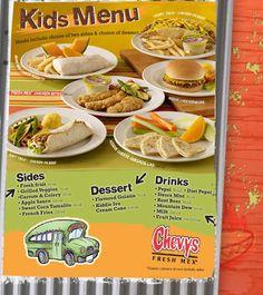 Fresh Fruit Desserts, Diet Pepsi, Soft Tacos, Kids Menu, Quesadilla, Root Beer, Chevy, Resume Pdf, Veggies
