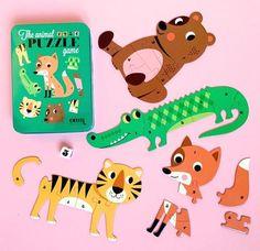 Animal Puzzle Game - Ingela P Arrhenius