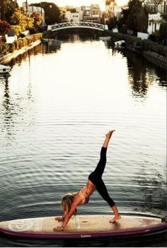 Paddle board yoga this is what I need in my life......#Dunstanlife