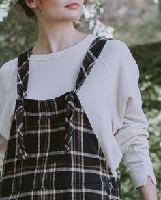 The Easy Overall. - Woodland Plaid - THE GREAT. – The Great.