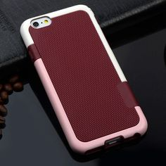 For iPhone 7 Matte ARMOR Soft TPU Hybrid Gel Back Case For Apple iPhone 5 5S SE 6 6S Plus Shockproof Cover Phone Protective Bags