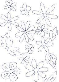 Resultado de imagen para como hacer flores de goma eva