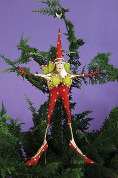 Patience Brewster Stella Star Woman Tree Topper