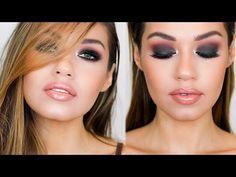 BLACK SMOKEY EYE MAKEUP TUTORIAL   Smouldering Eye Makeup   EmanMakeup - YouTube