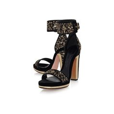 Alexander McQueen Ophelia Sequin Embellished Sandals (1,995 CAD) ❤ liked on Polyvore featuring shoes, sandals, velvet sandals, gothic shoes, alexander mcqueen, sparkly shoes and gothic lolita shoes