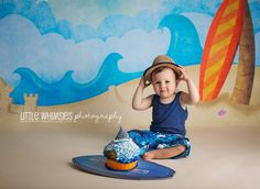 Surfs Up! {NYC & Westchester Newborn, Baby, Toddler, Cake Smash Photographer} » Little Whimsies Photography