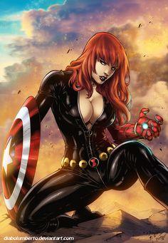 Black Widow by diabolumberto