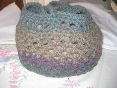 Purse Hand Bag Tote Yarn Bowl Alpaca Crochet Handle by AlpacaShack
