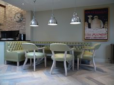 Check out this photo of a wooden floor dining room on Rightmove Home Ideas