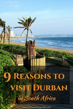 9 Reasons to visit Durban in South Africa - Golden Mile on the Durban beachfront - Durban is a warm place to be