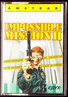 Juego Amstrad CPC Cinta - Impossible Mission II / Misión Imposible II (1987) Español Erbe