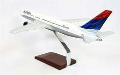B767-400 Delta - Premium Wood Designs #Commercial #Aircraft premiumwooddesigns.com