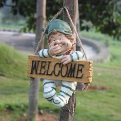 Cheap Garden Ornaments, Buy Quality Garden Ornaments Statues Directly From  China Gnome Garden Suppliers: Tall Handmade Creative Welcome Gnome Garden  ...