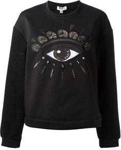 Kenzo Black Eye Sweater