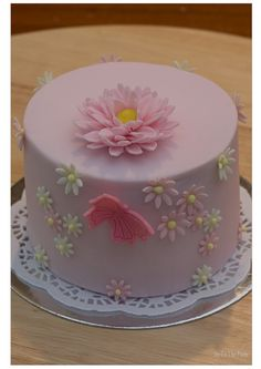 Butterflies and flowers - WASC Cake