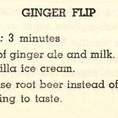 Ginger Flip 1951