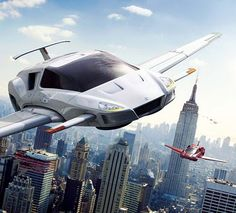 Flying Cars Of The Future...I always thought that would be now!