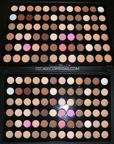 Dicas e Compras: Resenha: Paleta de sombras 72 cores - AliExpress