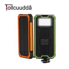 Tollcuudda Solar Poverbank Phone For Xiaomi Iphone Power Bank Charger Battery Portable Mobile Pover Bank Mi Powerbank 10000mah *** Haga clic en la VISITA botón para entrar en la página web