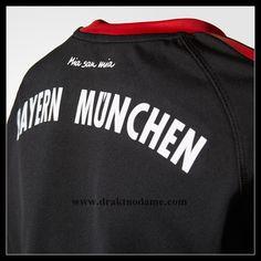 58adabb4 skjorte Barn FC Bayern München, united fotball skjorter Barn FC Bayern  München Langermet Keeper Hjemmedrakt