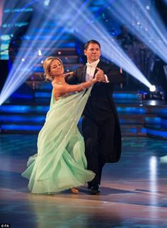 Strictly veteran:Ola is completing her ninth year on Strictly with her nature show presen...