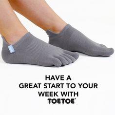 Have a great week! #TOETOE #TOETOESocks