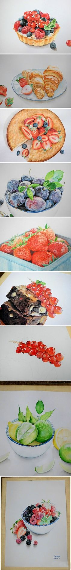 Good realistic set of dishes illustrator ... (Author: Sly)