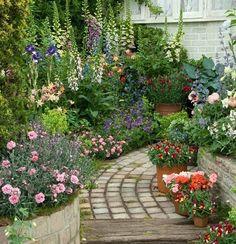 small garden path