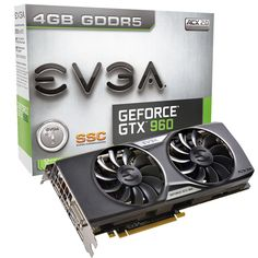 Amazon.com: EVGA GeForce GTX 960 SuperSC ACX 2.0+ 2GB GDDR5 128bit, PCI-E 3.0 Dual-Link DVI-I, 3 x DP, HDMI, SLI, HDCP, G-SYNC Ready Graphics Cards 02G-P4-2966-KR: Electronics