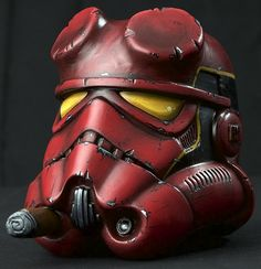 stormtrooper helmet art: Hell Boy