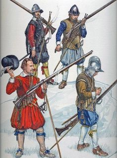 Early Stuarts - Matchlock Musketeer 1588 - 1688